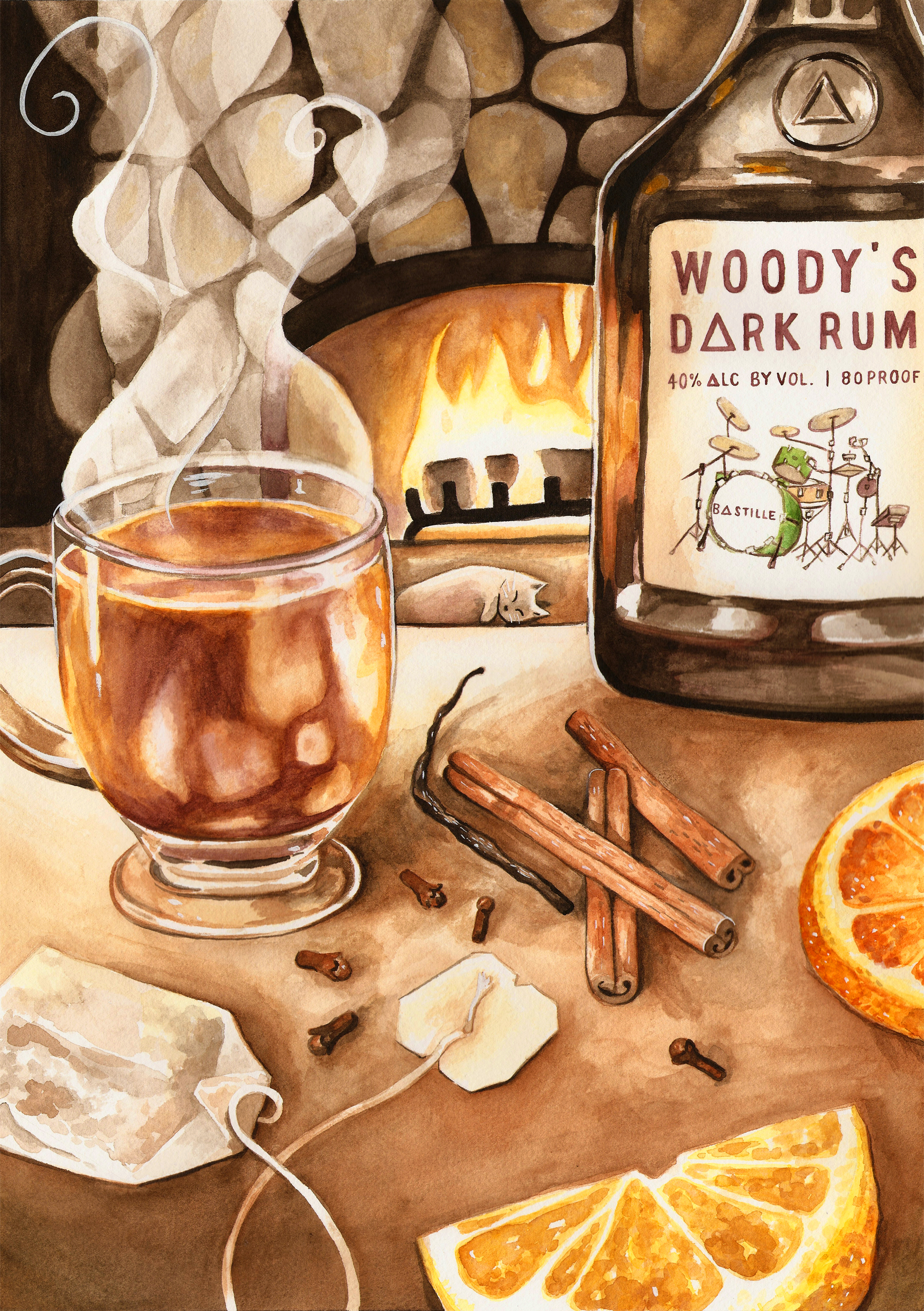 Winter Tea Punch Recipe by Woody From Bastille