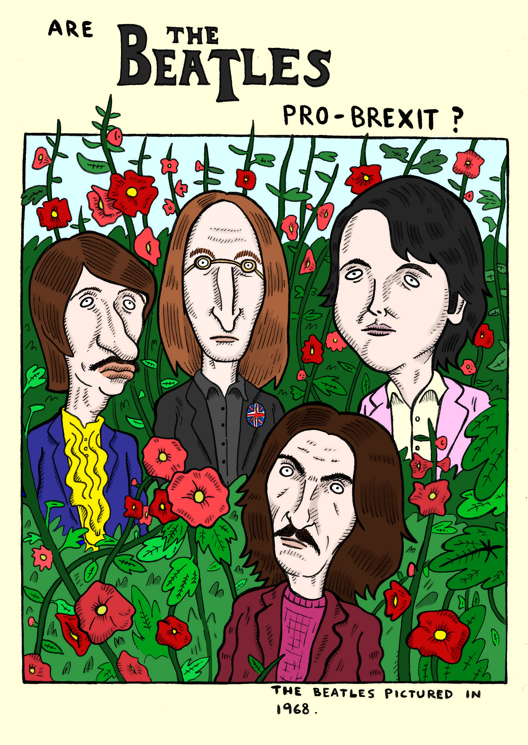 Are The Beatles Pro-Brexit?